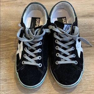 Golden goose sneakers. Black suede. Size 35.
